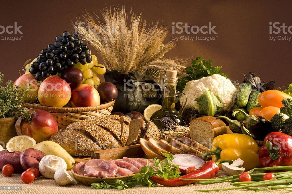 Big food still-life stock photo