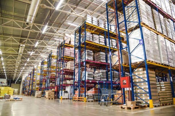 big food warehouse - warehouse стоковые фото и изображения