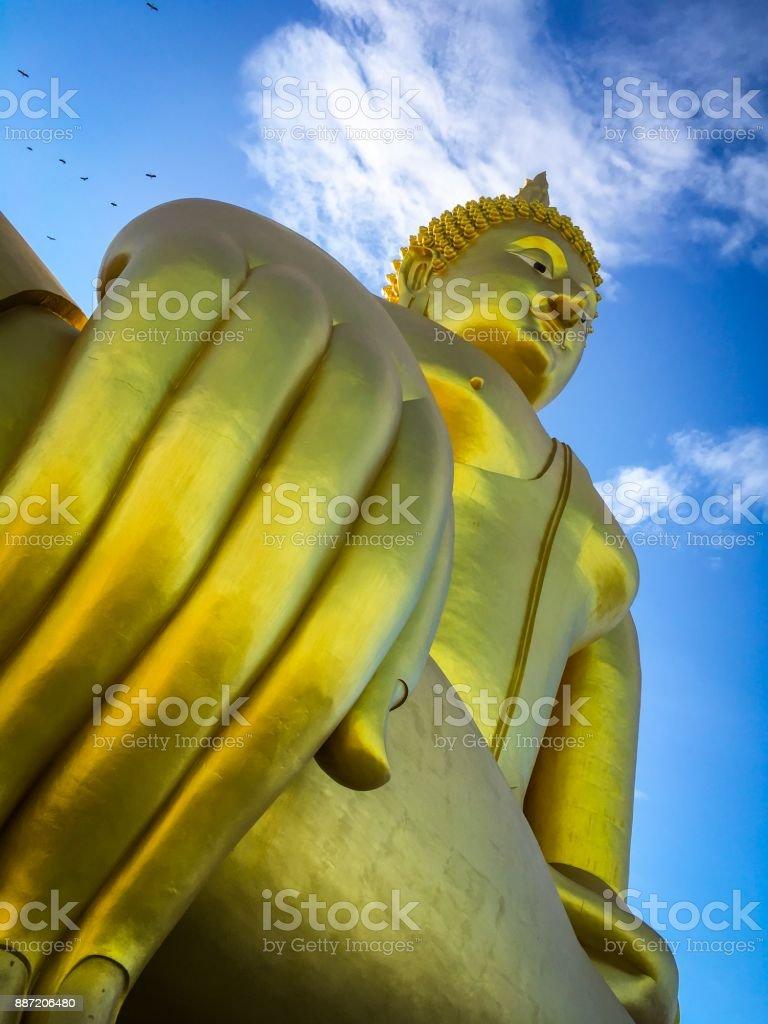 Big Golden Buddha, Thailand royalty-free stock photo