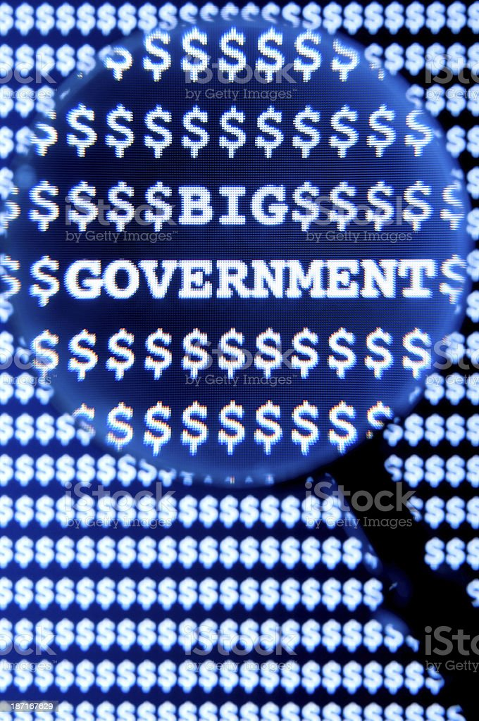 Big Government royalty-free stock photo