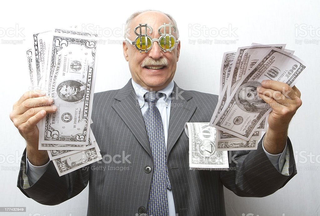 Big Greed stock photo