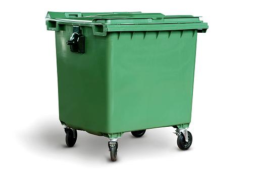 Big Green Recycling Bin-foton och fler bilder på Avfallsbehållare