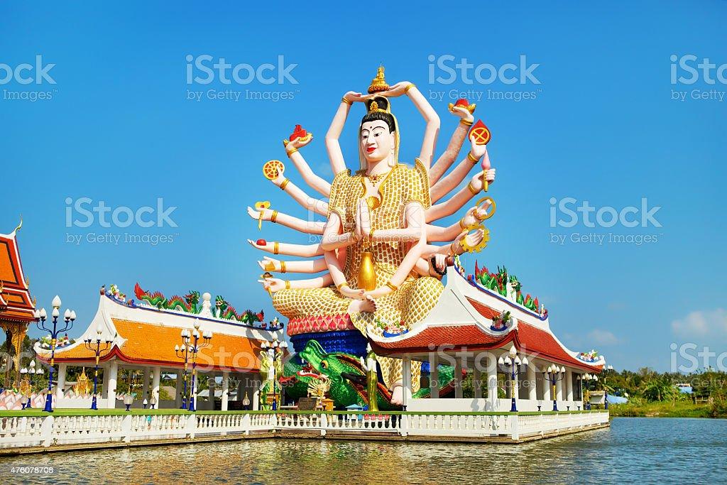 Big Guan Yin stock photo