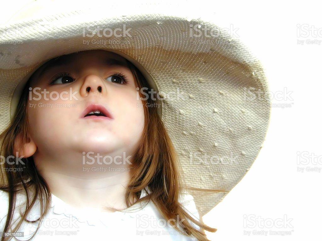 Big hat 1 royalty-free stock photo