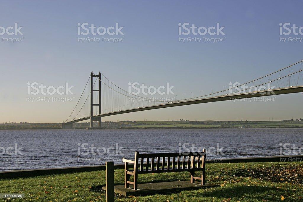 big humber bridge royalty-free stock photo