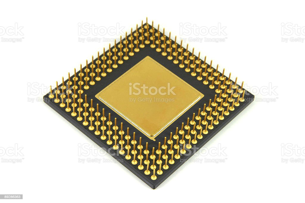 Big IC Chip 2 stock photo