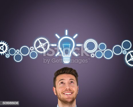 istock Big Idea Concept on Screen 509988636