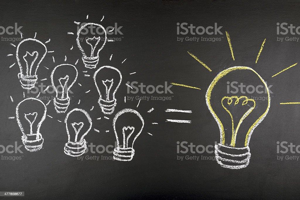 big idea concept royalty-free stock photo