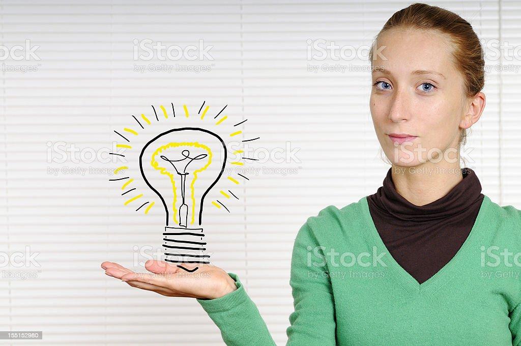 Big idea royalty-free stock photo