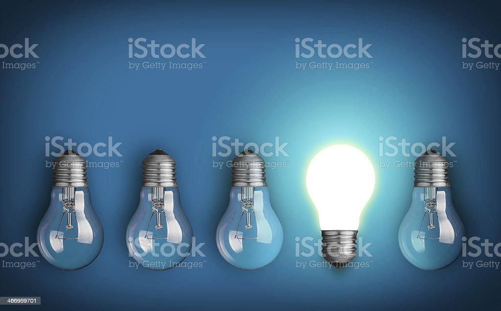 Big idea stock photo