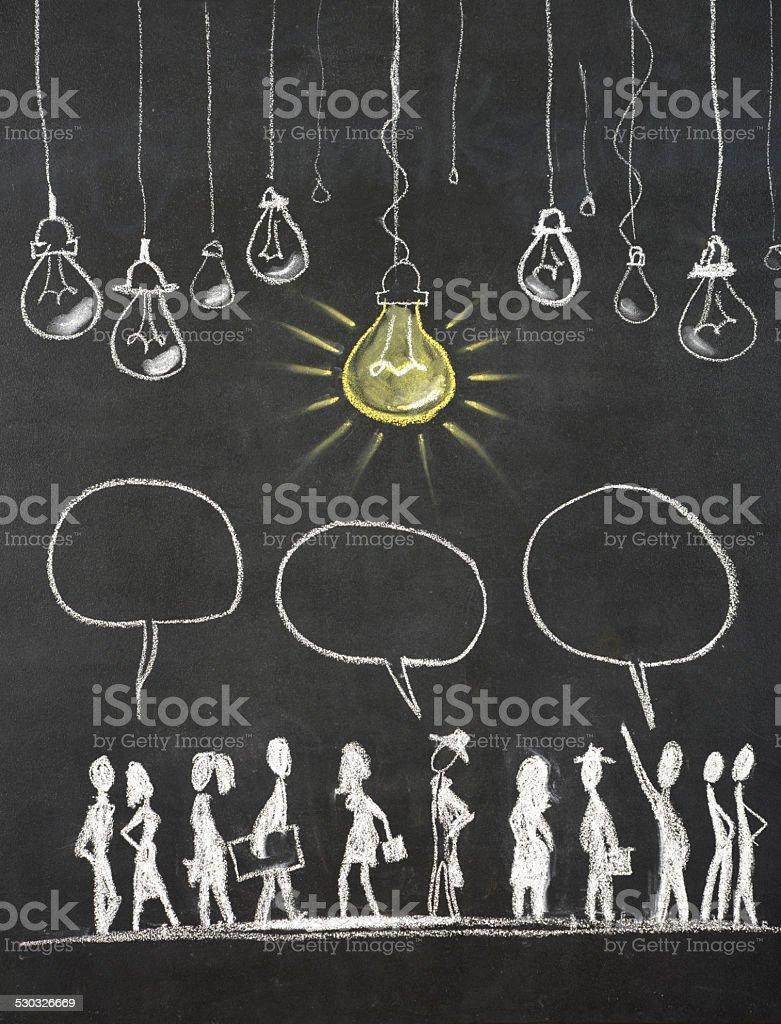 Big Idea stock photo