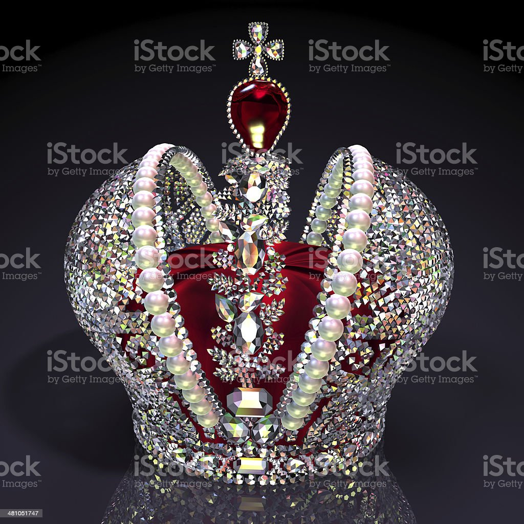 Big Imperial Crown stock photo