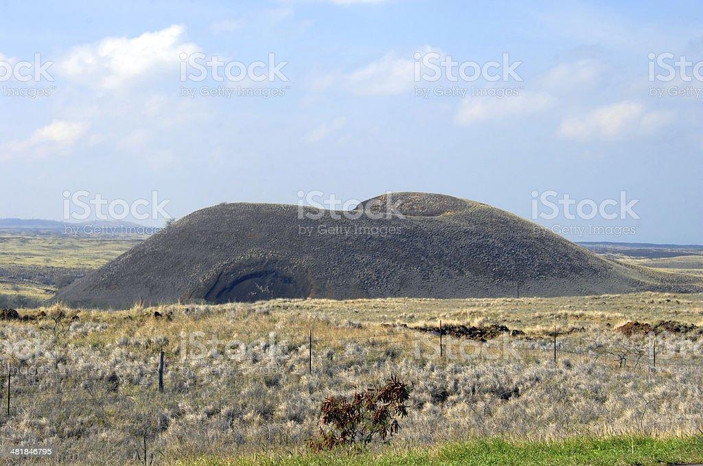 Big Island Cinder Cone stock photo