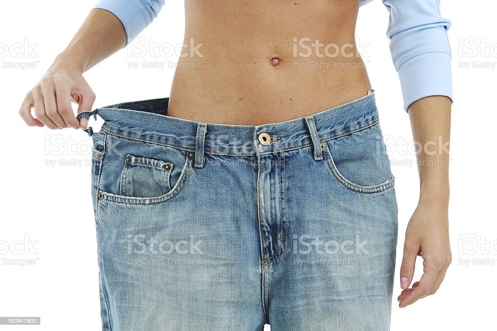 big jeans royalty-free stock photo