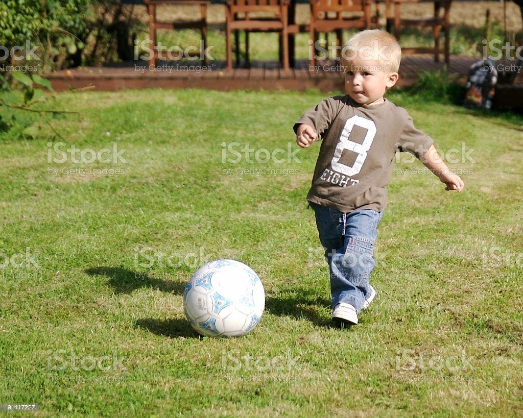 Big Kick... stock photo