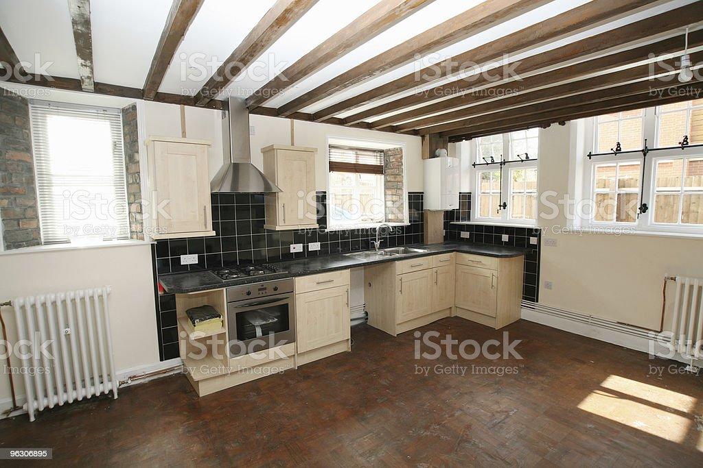 Big Kitchen royalty-free stock photo