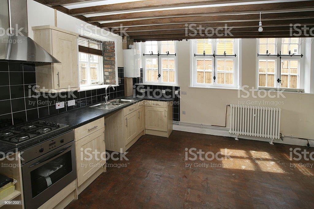 Big Kitchen2 royalty-free stock photo