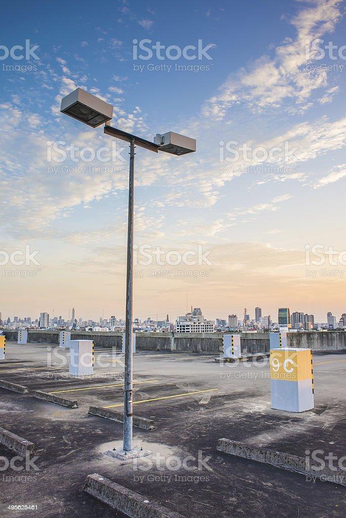 Big lamp stock photo