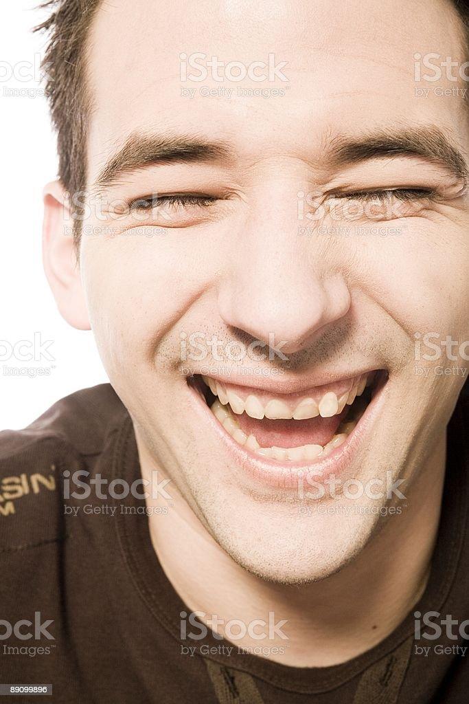 big laugh royalty-free stock photo