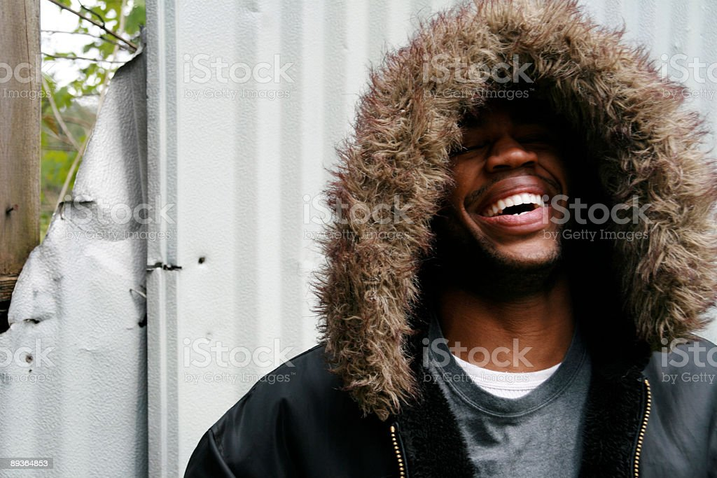 Big Laugh royalty free stockfoto