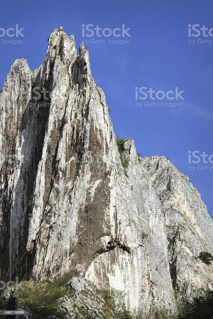 big limestone ridge stock photo