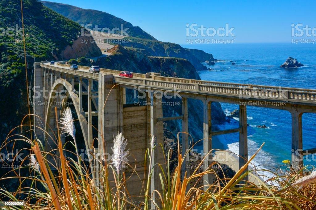 Big Little Lies Bridge stock photo