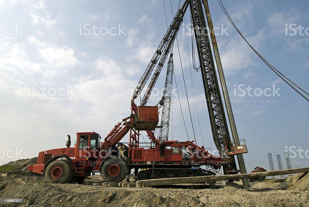big machines stock photo