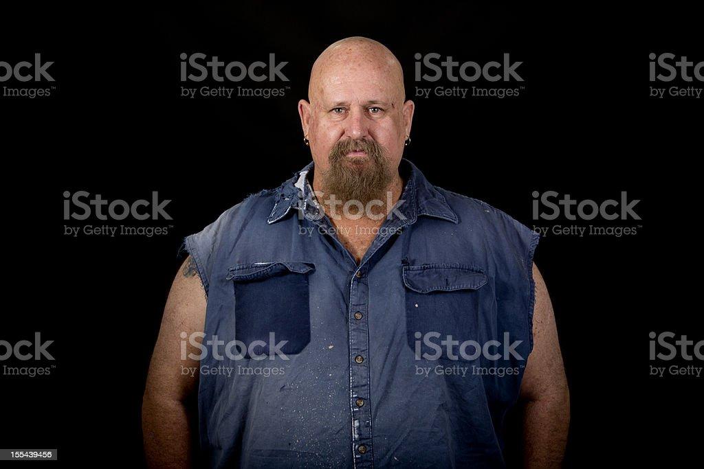 Big Man stock photo
