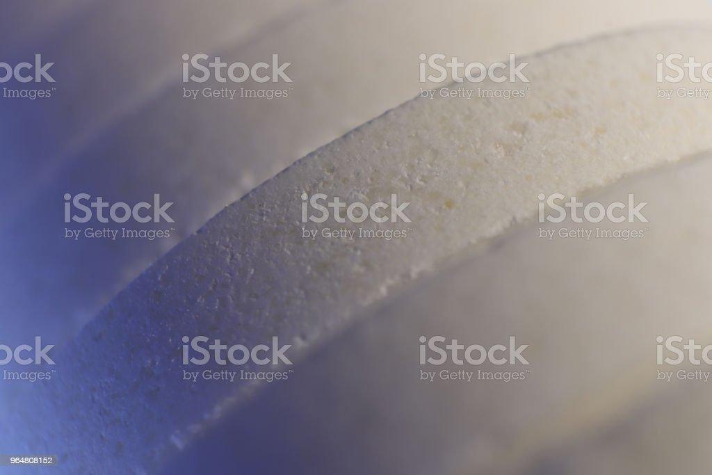 Big Medicine Tablets. Pharmacy Pills Background. Macro Closeup. royalty-free stock photo