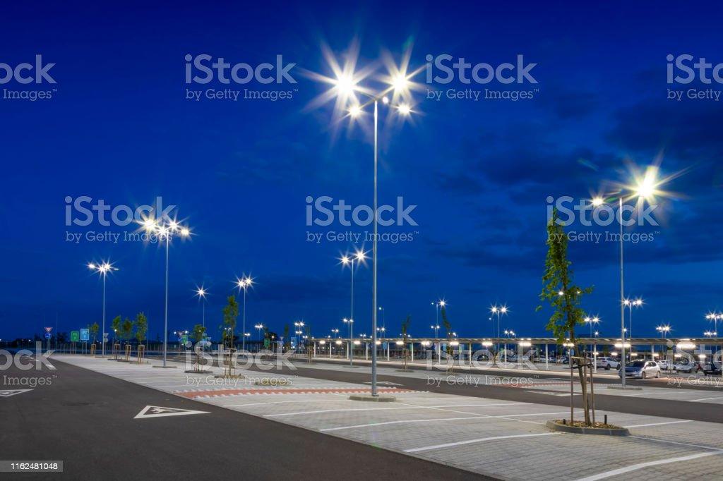 architecture, night, transportation