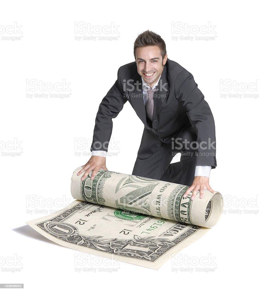 Big money. stock photo
