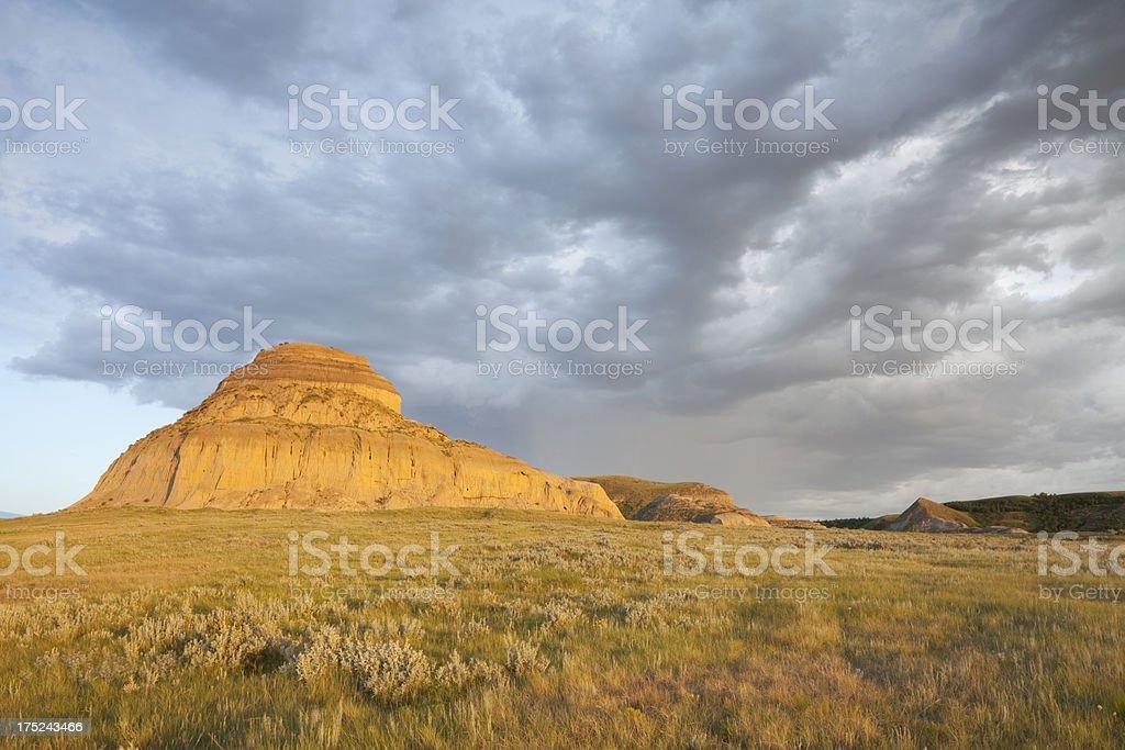 Big Muddy Valley Saskatchewan royalty-free stock photo