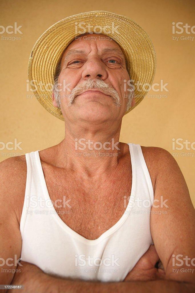 big nosed man royalty-free stock photo