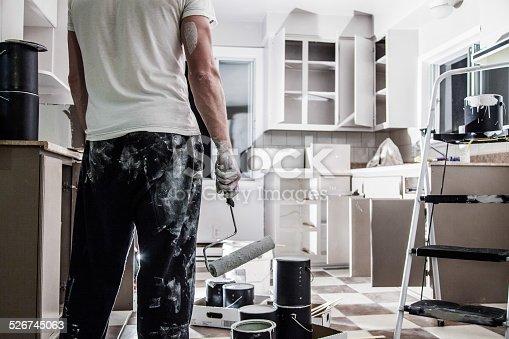 istock Big Painting Job ! 526745063