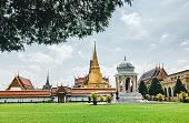 big palace temple in Bangkok,Thailand