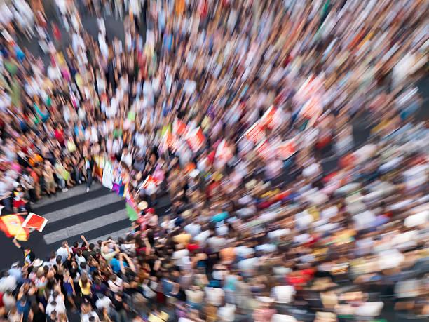Große Parade in Madrid – Foto