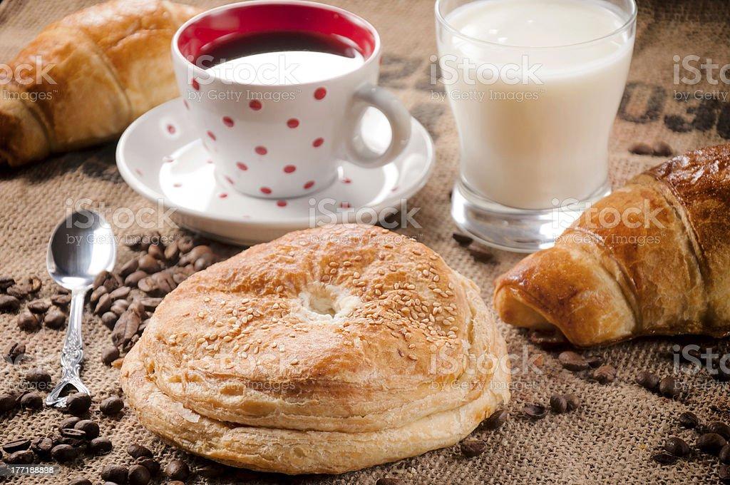 Big pastry royalty-free stock photo
