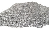 Big pile of crushed stones