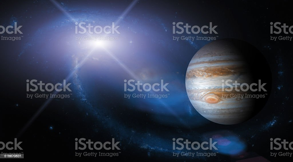 Big Planet stock photo