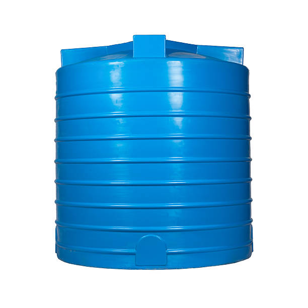 "Big plastic container ""Big polyethylene container of 3000 l. for accumulation, storage and transportation of not only technical or drinking water, but also a variety of dry and liquid food products, as well as oils and chemicals."" volume fluid capacity stock pictures, royalty-free photos & images"