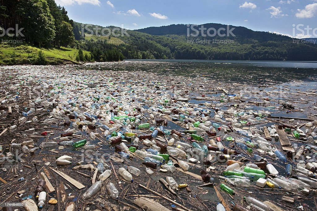 Big Plastic Pollution Stock Photo & More Pictures of ...