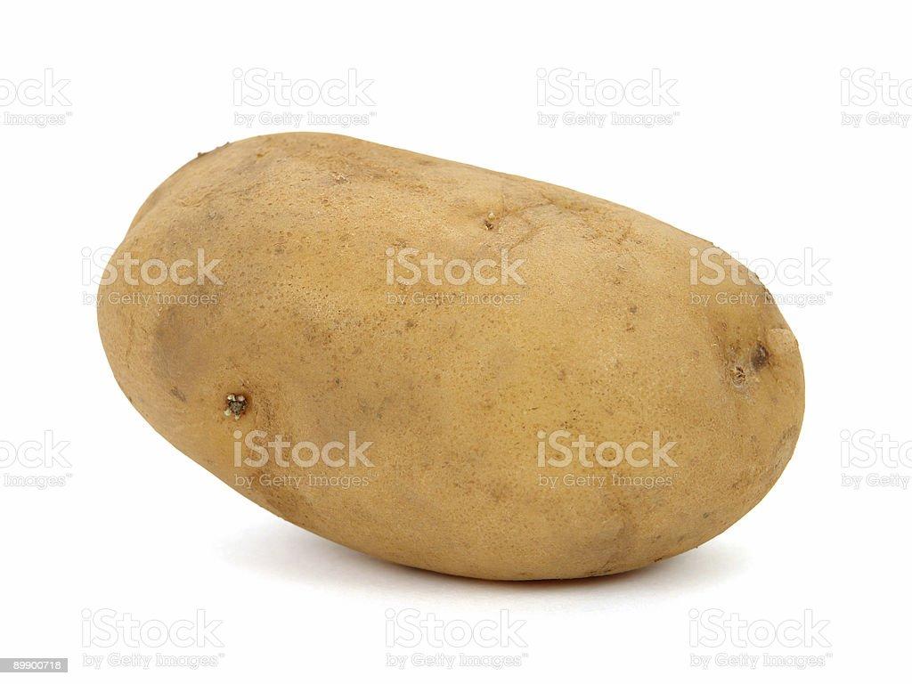 Big potato royalty-free stock photo