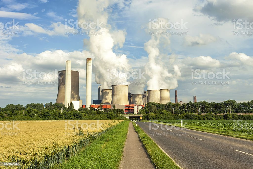 Big Power Plant royalty-free stock photo