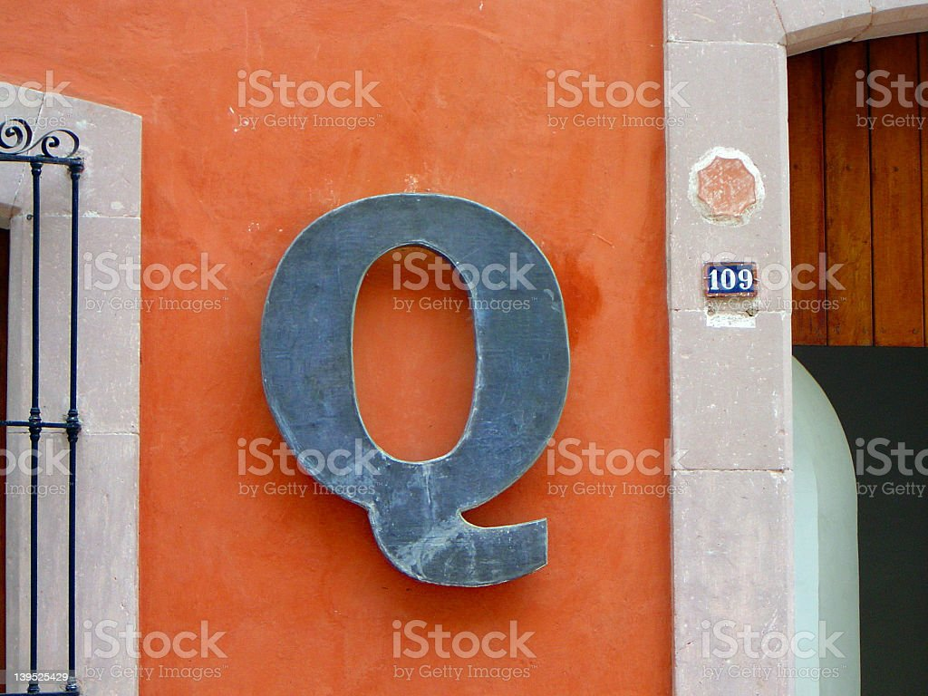 Big Q stock photo