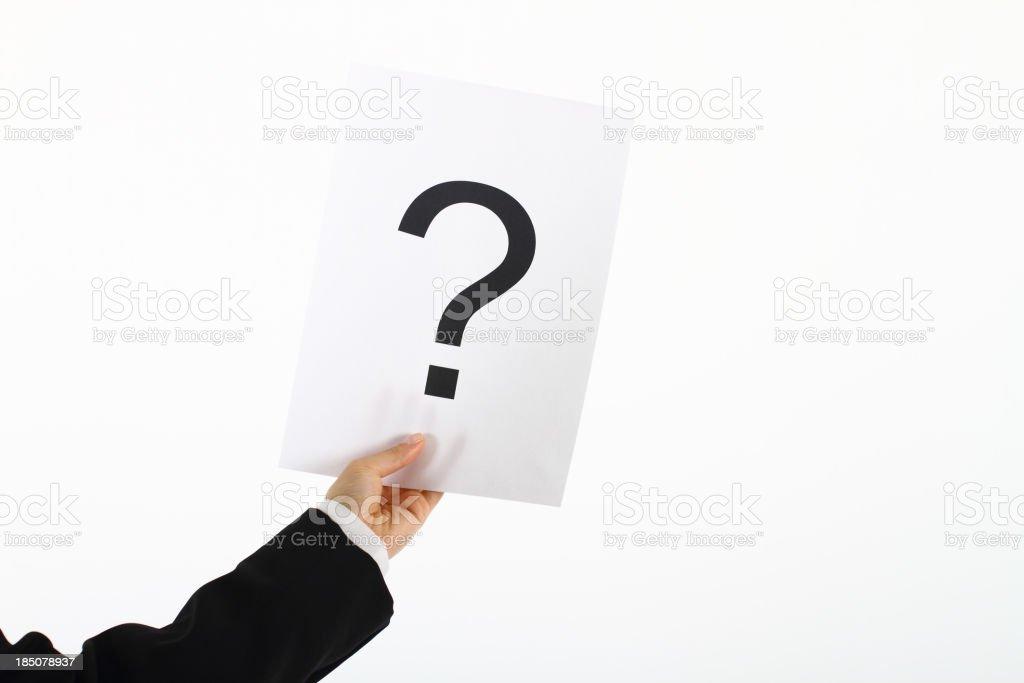 Große Frage – Foto