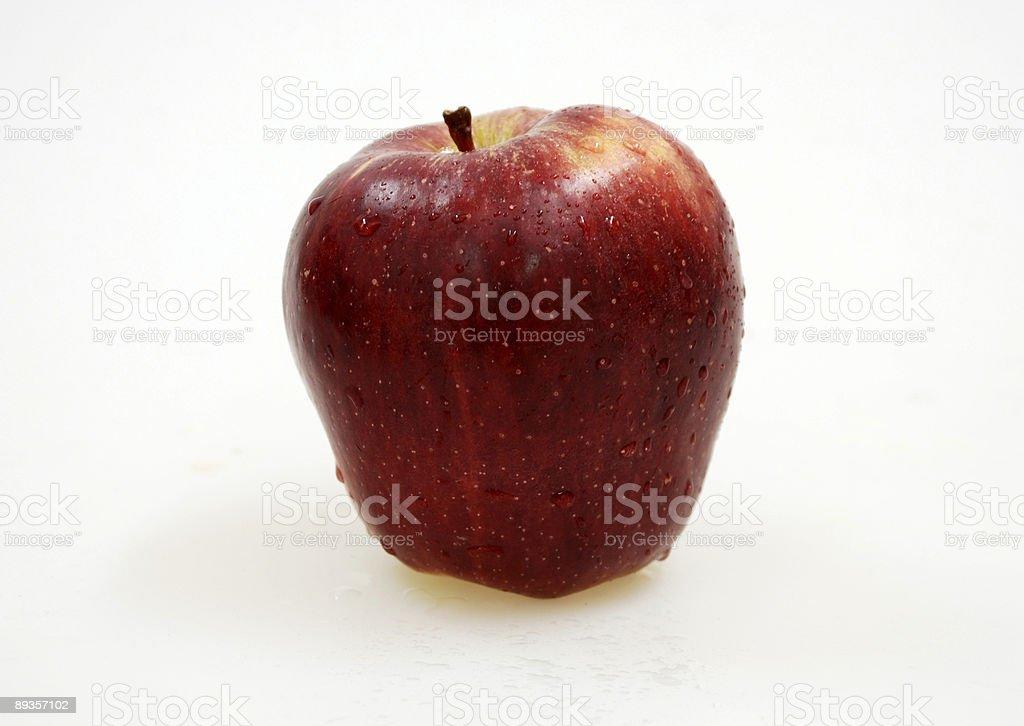 big red apple royalty free stockfoto