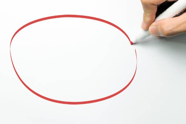 大紅色圓圈 - 挑染 個照片及圖片檔