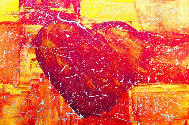Big Red Heart  – Foto