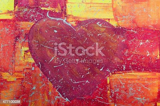 908708148 istock photo Big Red Heart 477100038