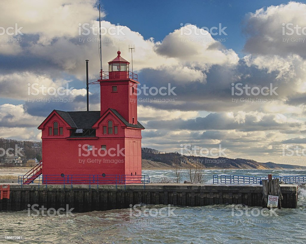 Big Red stock photo